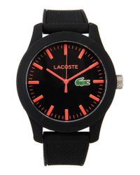 Lacoste | Black Wrist Watch for Men | Lyst