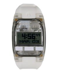 Nixon - White Wrist Watch - Lyst