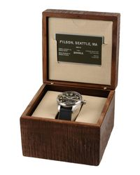 Filson - Gray Wrist Watch for Men - Lyst