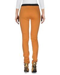 Pianurastudio - Brown Denim Trousers - Lyst