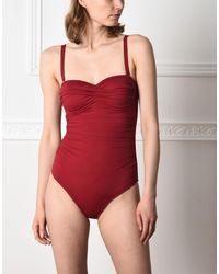 Jolie By Edward Spiers - Red One-piece Swimsuit - Lyst