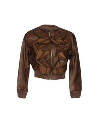 Relish - Brown Jacket - Lyst
