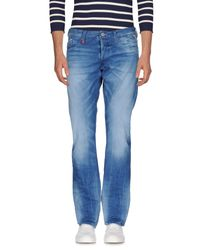 Replay Blue Denim Pants for men