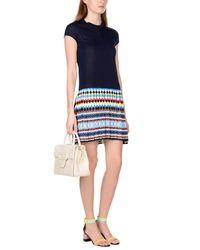 Mary Katrantzou - Blue Short Dress - Lyst