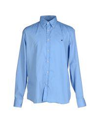Brooksfield - Blue Shirts for Men - Lyst