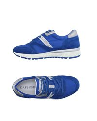 CafeNoir - Blue Low-tops & Trainers - Lyst