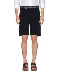 Columbia - Black Bermuda Shorts for Men - Lyst