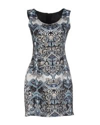 Les Éclaires - Blue Short Dress - Lyst