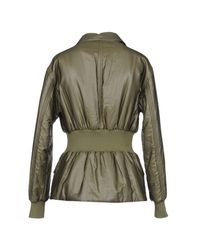 Peuterey - Green Synthetic Down Jacket - Lyst