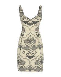 I'm Isola Marras - Gray Short Dress - Lyst