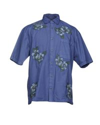 French Connection - Blue Shirts for Men - Lyst