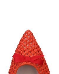 Giancarlo Paoli - Orange Ballet Flats - Lyst