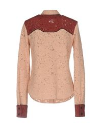 Ainea - Pink Shirt - Lyst