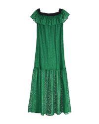 Jucca Green Long Dress