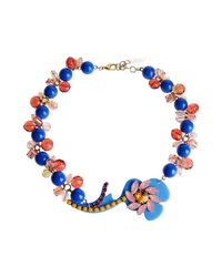P.A.R.O.S.H. - Blue Necklaces - Lyst