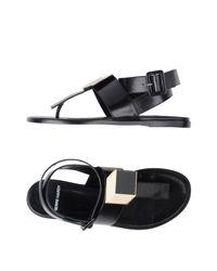 Pierre Hardy - Black Sandals - Lyst