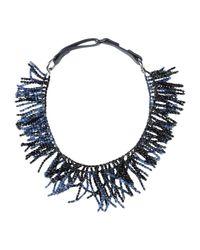 Brunello Cucinelli - Blue Necklace - Lyst