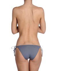 La Perla - Gray Bikini Bottoms - Lyst