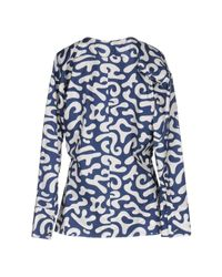 Marni - Blue Blouse - Lyst