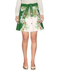 Vivetta Green Mini Skirt