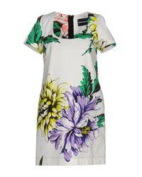 Marco Bologna - White Short Dress - Lyst