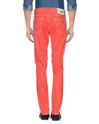 GAUDI - Red Casual Pants for Men - Lyst