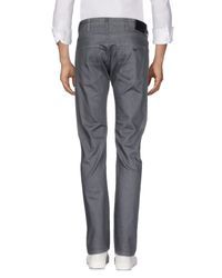 Armani Jeans - Gray Denim Pants for Men - Lyst