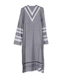 Cecilie Copenhagen - White 3/4 Length Dress - Lyst