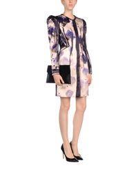 Lanvin | Natural Overcoats | Lyst