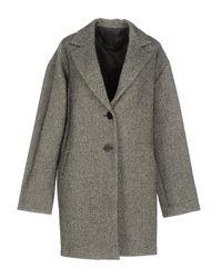 Pinko | Gray Coat | Lyst