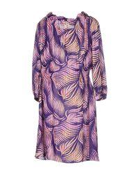 Matthew Williamson - Purple Short Dresses - Lyst