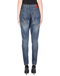 R13 Blue Denim Pants
