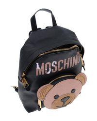 Moschino - Black Backpacks & Bum Bags - Lyst