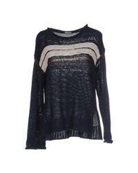Philosophy di Alberta Ferretti - Blue Sweater - Lyst