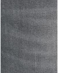 Grey Daniele Alessandrini Gray Denim Pants for men