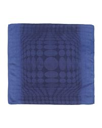 Tonello - Blue Square Scarf for Men - Lyst