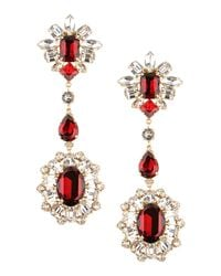 DSquared² | Red Earrings | Lyst