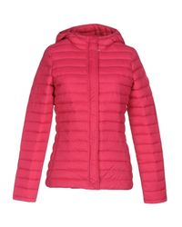 Gertrude + Gaston | Red Down Jacket | Lyst