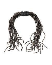 Brunello Cucinelli - Brown Necklace - Lyst