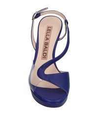 Lella Baldi - Purple Sandals - Lyst