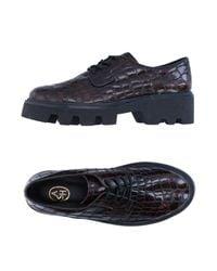 Ash - Brown Lace-up Shoe - Lyst