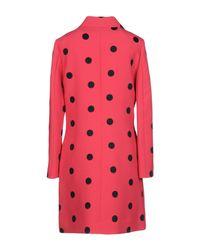 Boutique Moschino - Multicolor Overcoat - Lyst