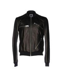 Les Hommes - Black Jacket for Men - Lyst