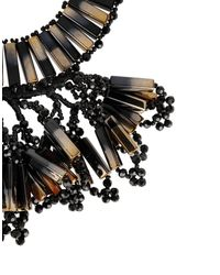 NIGHTMARKET.IT - Black Necklace - Lyst