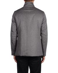 Herno Gray Jacket for men