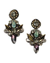 Deepa Gurnani - Purple Earrings - Lyst