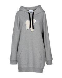 Au Jour Le Jour - Gray Sweatshirt - Lyst