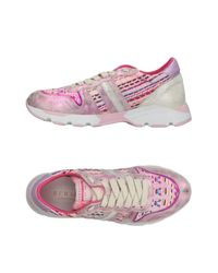 Serafini - Pink Low-tops & Sneakers - Lyst