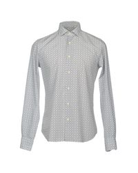 Xacus - White Shirt for Men - Lyst