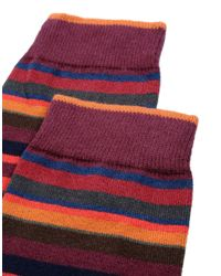 Gallo - Multicolor Short Socks for Men - Lyst